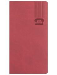 AGENDE BRISTOL ROSSO CARDINALE TELEFONICE 7x13.6 CM 347BRISRC