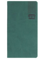 AGENDE BRISTOL VERDE TELEFONICE 7x13.6 CM 347BRISV