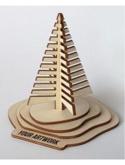 PUZZLE 3D BRADUT / SUPORT CARTI DE VIZITA