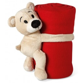 Pătură polar cu ursulet
